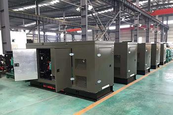 俄罗斯世界杯4台1000kW集装箱静音机组项目验收